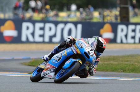 FIM CEV Repsol, Arón Canet domina el mundial Junior de Moto3 en Le Mans