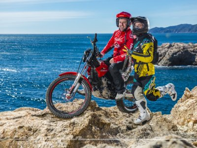 La Montesa 4RIDE y Amós Bilbao se enfrentan a la aventura de los Scottish Six Days Trial