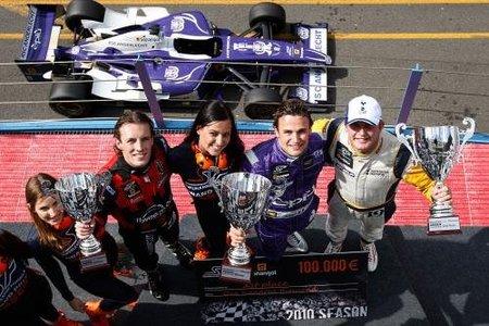 Davide Rigon el ganador de Assen en Superleague Formula, Craig Dolby sigue dominando