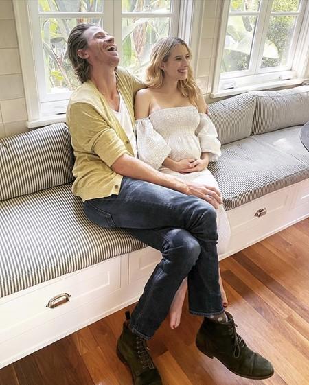 'American Preñada Story': Emma Roberts y Garrett Hedlund se unen al baby boom del confinamiento