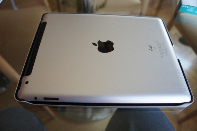 Aspecto del iPad una vez metido en el Teclado-Funda
