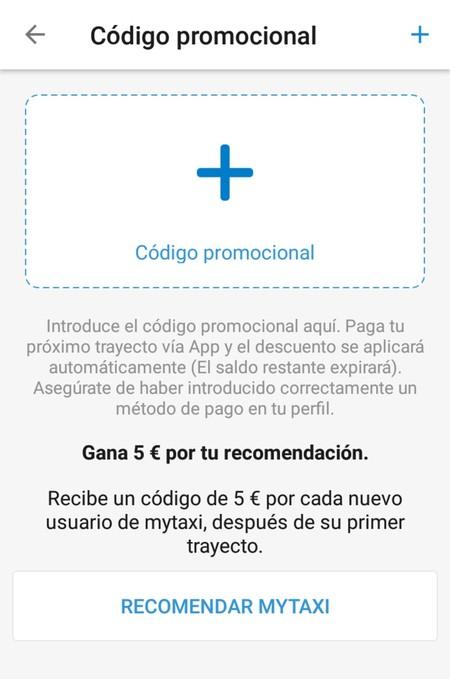 Mytaxi Codigo Promocional
