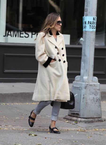 Sarah Jessica Parker paseando por Nueva York