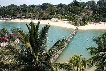 La Isla de Sentosa: centro del ocio en Singapur