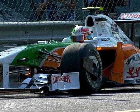 Aumenta el ritmo en Monza, pero Adrian Sutil sigue siendo la referencia