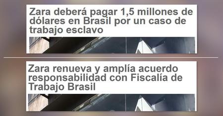 Lo que hay detrás de la multa a Zara por trabajo esclavo en Brasil y el baile de titulares en prensa