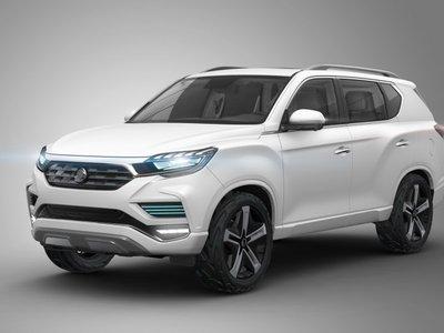 Ssang Yong LIV-2 Concept, un anticipo de lo que será la próxima generación de la Rexton
