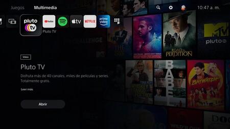 PS5 tendrá Pluto TV desde su lanzamiento en México: se une a Spotify, Apple TV y Netflix
