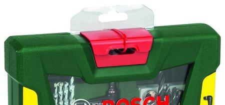 Por sólo 13,50 euros tenemos el maletín de 41 unidades para taladrar y atornillar Bosch V-Line en Amazon