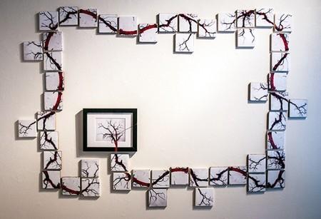 Recicladecoración: azulejos convertidos en arte