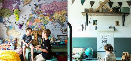 17 ideas de decoraciones murales para el dormitorio de los niños
