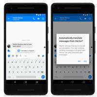 Facebook Messenger ahora realiza traducciones de español e inglés de manera automática en México y Estados Unidos