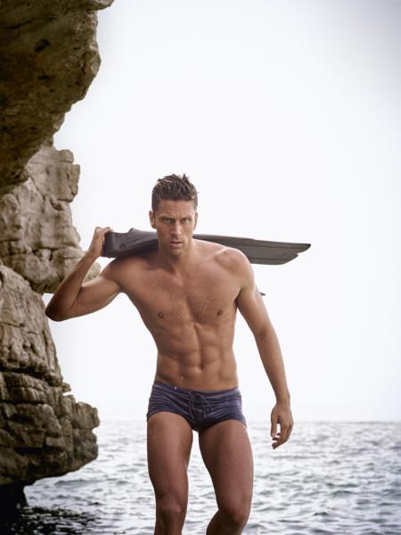 Luca Dotto un atleta que reconoce que cada día dedica más tiempo al cuidado de su piel
