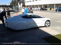El Volkswagen XL1, de paseo por Navarra