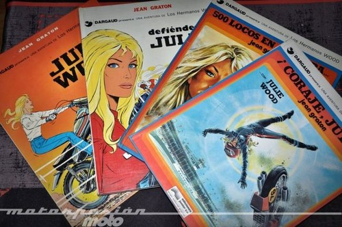 Especial cómics y motos: Julie Wood