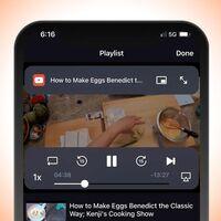 Escuchar YouTube en iPhone con la pantalla apagada y hasta sin conexión, lo nuevo de Brave lo hace posible