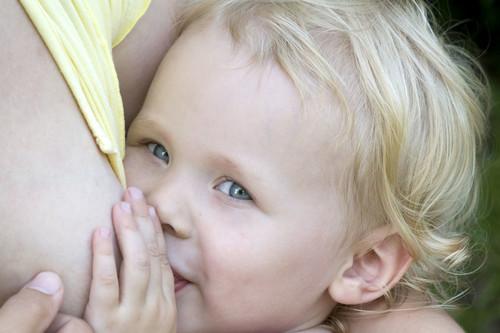 ¿Y si ya debería estar comiendo pero sigue con lactancia materna exclusiva?