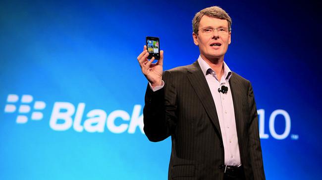 Resultados BlackBerry