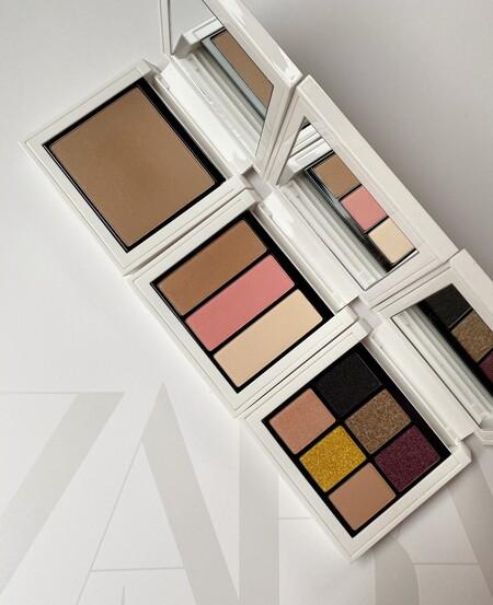 Ya está aquí la colección de maquillaje de Zara Beauty con sombras de ojos, polvos bronceadores,... todo lo necesario para un look ideal con el packaging más bonito
