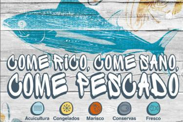 """""""Come rico, come sano, come pescado"""", la campaña para divulgar el consumo del pescado"""