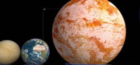 Siéntete insignificante con esta comparativa de planetas y estrellas