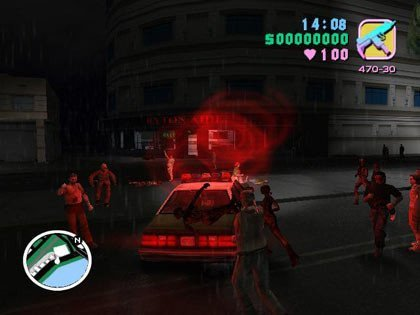 Los zombies invaden GTA: Vice City