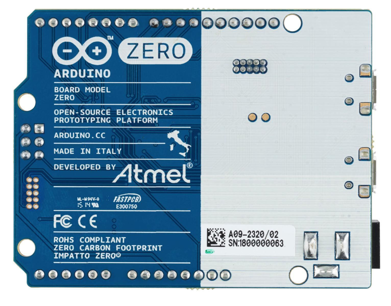 Foto de Arduino Zero (2/3)