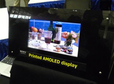 Sony también trabaja en la alta densidad de píxeles de pantallas OLED