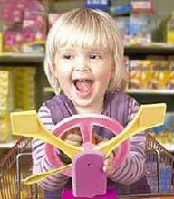 Trolley Toy: juguete para el carro de la compra