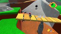 No dejéis escapar la oportunidad de jugar a Super Mario 64 en HD y desde vuestro navegador