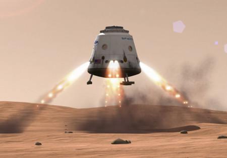 Red Dragon, una nave espacial de bajo presupuesto con viaje de ida y vuelta a Marte para el 2022