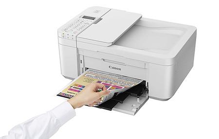 Impresora Multifuncional Canon Pixma Tr4551 Blanca Wifi