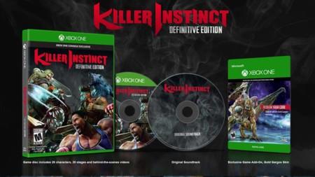 Killer Instinct nos muestra su edición definitiva en formato físico