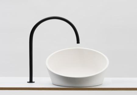 Una buena idea: un lavabo que se adapta a nuestra altura