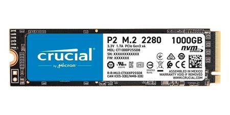 Crucial P2 Ct1000p2ssd8