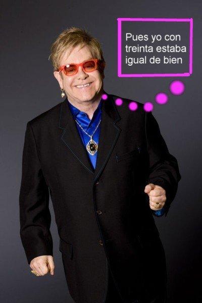 Elton John no pierde los papeles, se los da a Justin Timberlake
