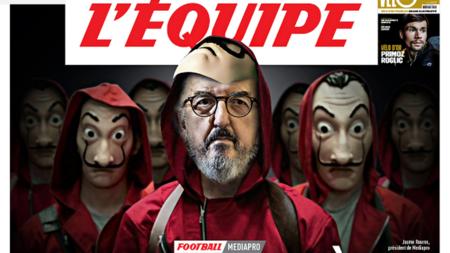 """""""El atraco del siglo"""", o cómo Roures ha dejado a todo el fútbol francés al borde de la quiebra"""