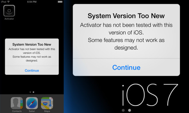 Jailbreak de iOS 7