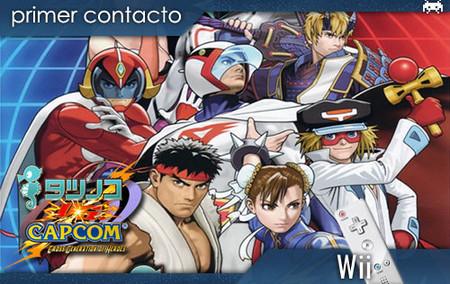 'Tatsunoko vs. Capcom: Cross Generation of Heroes'. Primer contacto