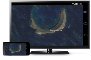 El mirroring desde Android por fin llega al Chromecast