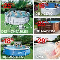 Descuentos de hasta el 29% en piscinas y Spas en El Corte Inglés