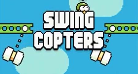 Swing Copters, el nuevo juego del creador de Flappy Bird