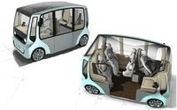 Rinspeed MicroMax Concept, camino de Ginebra