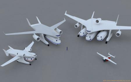 ¿Aviones modulares? En Clip-Air juegan con diferentes cápsulas para pasajeros y mercancías