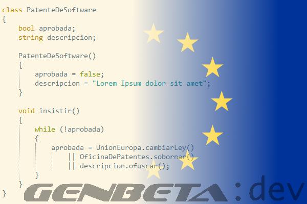 Patentes de software en la Unión Europea