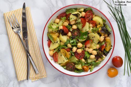 23 recetas de ensaladas de legumbres para sumar proteínas a tu dieta