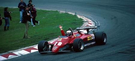 Pironi Ferrari F1