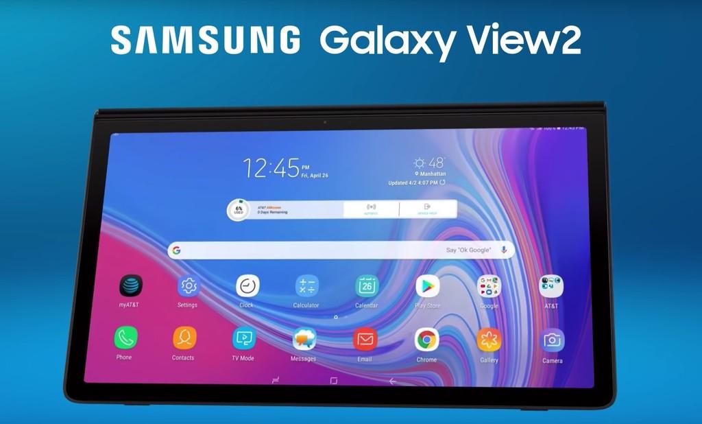 """Samsung Galaxy™ View 2, ya lo sabemos íntegramente encima el mas reciente y gigantesco tablet de 17,3 """""""