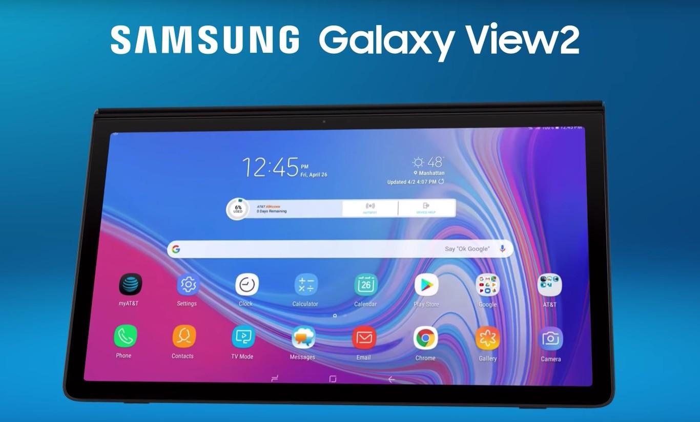 Samsung Galaxy View 2 Ya Lo Sabemos Todo Sobre El Nuevo Y Gigantesco Tablet De 17 3 Pulgadas