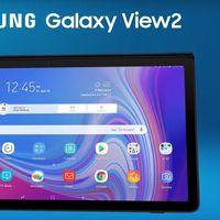 Samsung Galaxy View 2, ya lo sabemos todo sobre el nuevo y gigantesco tablet de 17,3 pulgadas